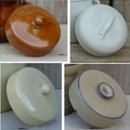 Lids for fermentation pots