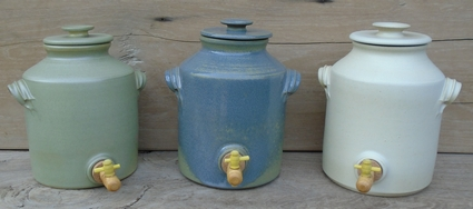 Vinegar pots 2,5 liter handwork from Holland