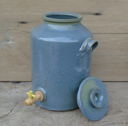 Vinegar pot kombucha pot 6 liter handwork from Limburg Holland