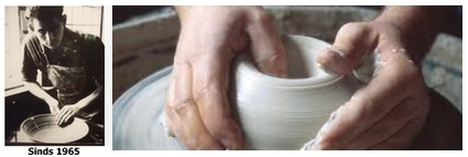 Master potter from Holland