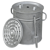 Canning kettles and canning supplies