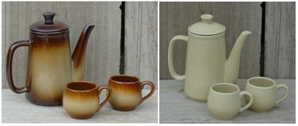 Tea pots and coffee pots