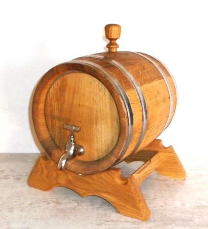 Oak wood balsamico vessels